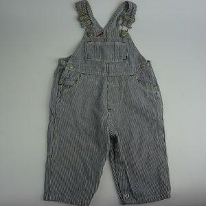 Classic Baby Cap Boys Jeans Denim Jumpsuit Jumper